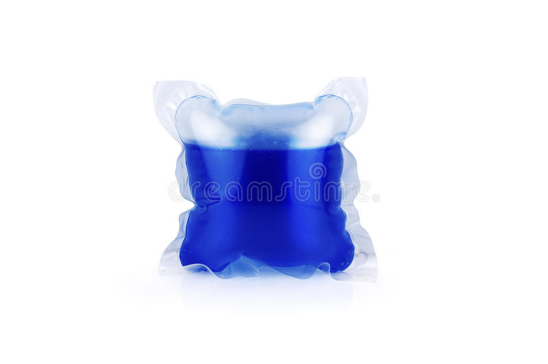 Cápsulas detergentes fotografia de stock royalty free