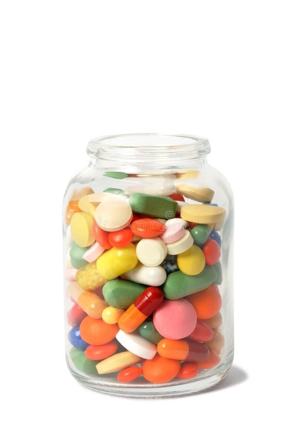 Cápsulas y píldoras fotografía de archivo libre de regalías
