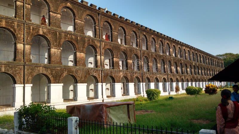 Cárcel de Kalapani imagenes de archivo