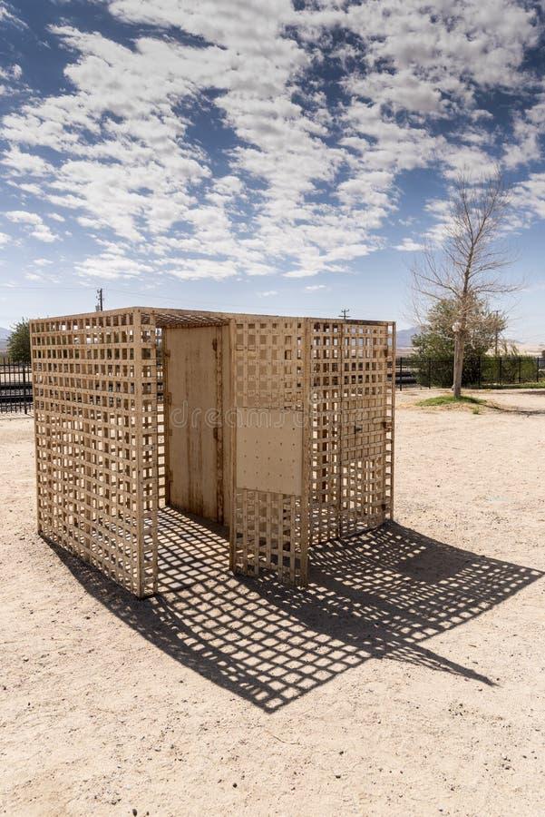 Cárcel de Kelso en el coto del Mojave del depósito de Kelso fotos de archivo
