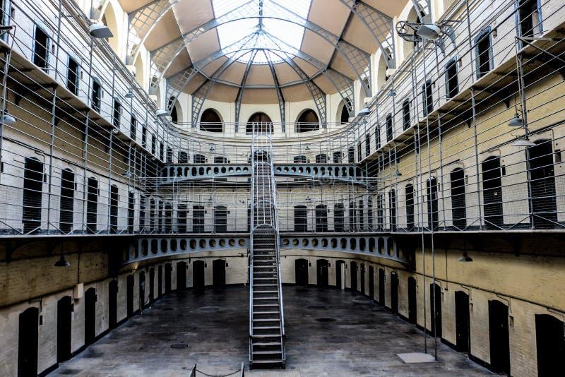 Cárcel de Kilmainham imagen de archivo libre de regalías
