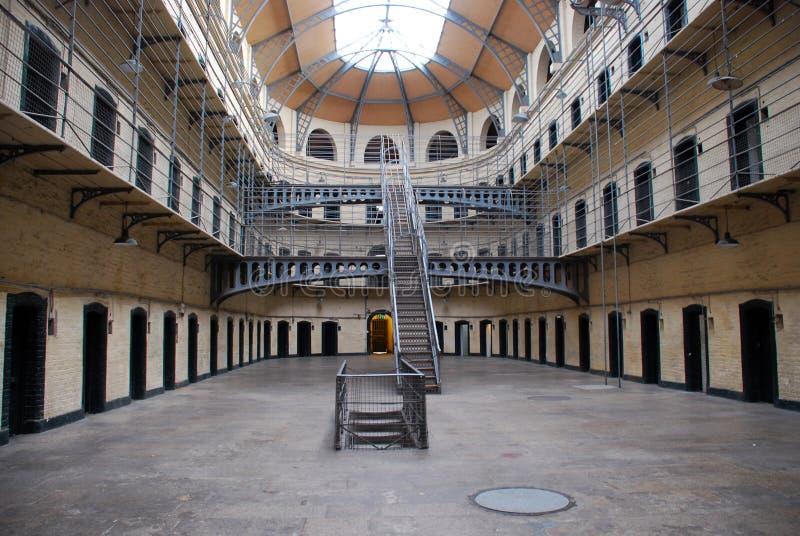 Cárcel de Kilmainham - prisión vieja de Dublín imagen de archivo libre de regalías