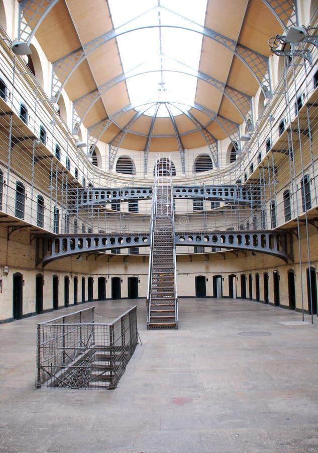 Cárcel de Kilmainham - prisión vieja de Dublín foto de archivo