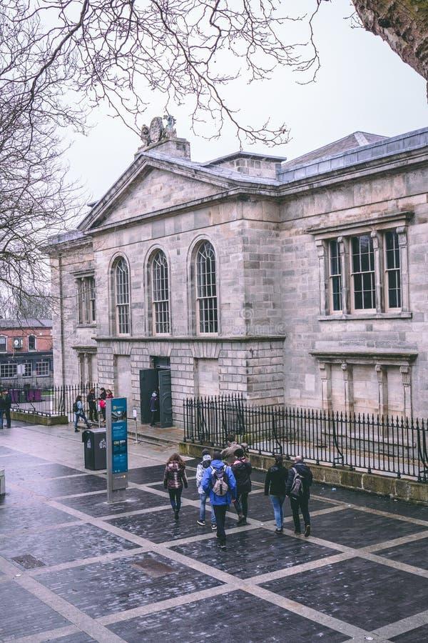 Cárcel de Kilmainham, una prisión anterior en Kilmainham, Dublín, Irlanda fotografía de archivo libre de regalías