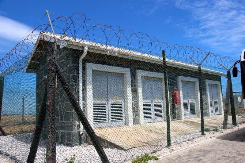 Cárcel de la isla de Robben imagenes de archivo