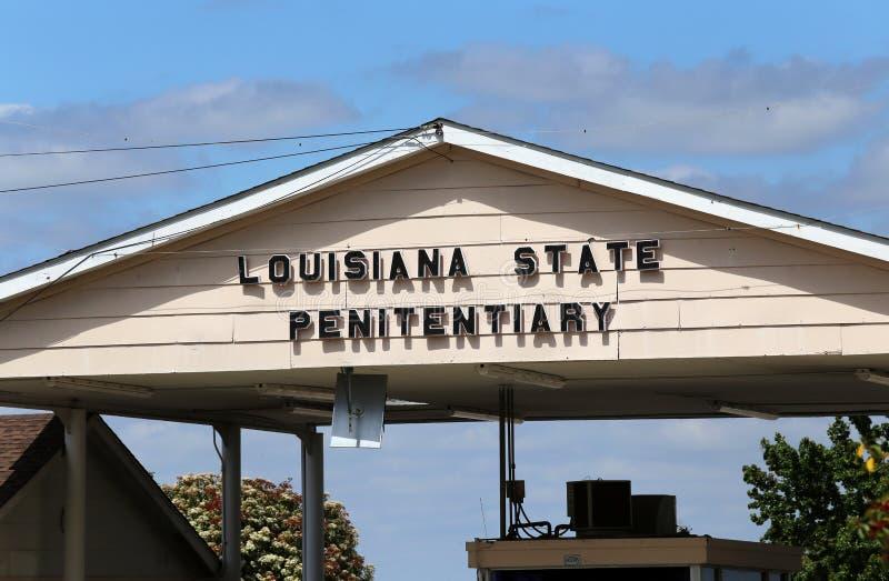 Cárcel del estado de Lousiana imagen de archivo libre de regalías
