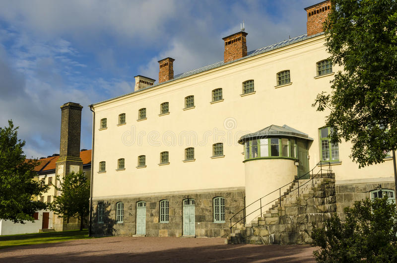Cárcel Karlskrona de la marina de guerra fotos de archivo libres de regalías