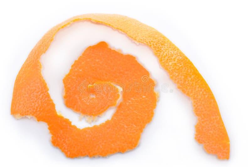 Cáscara anaranjada imágenes de archivo libres de regalías