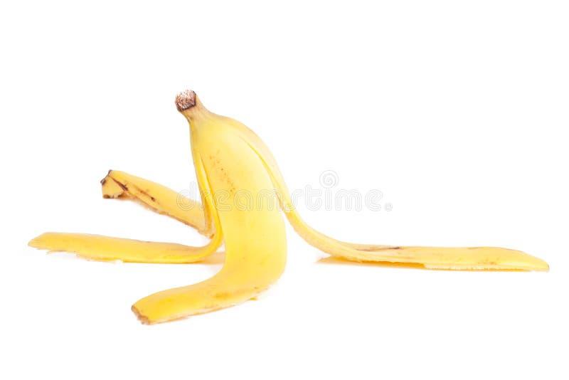 Cáscara del plátano imágenes de archivo libres de regalías