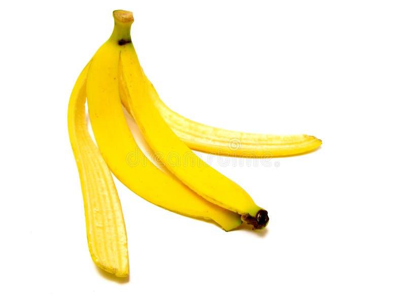 Cáscara del plátano fotografía de archivo libre de regalías