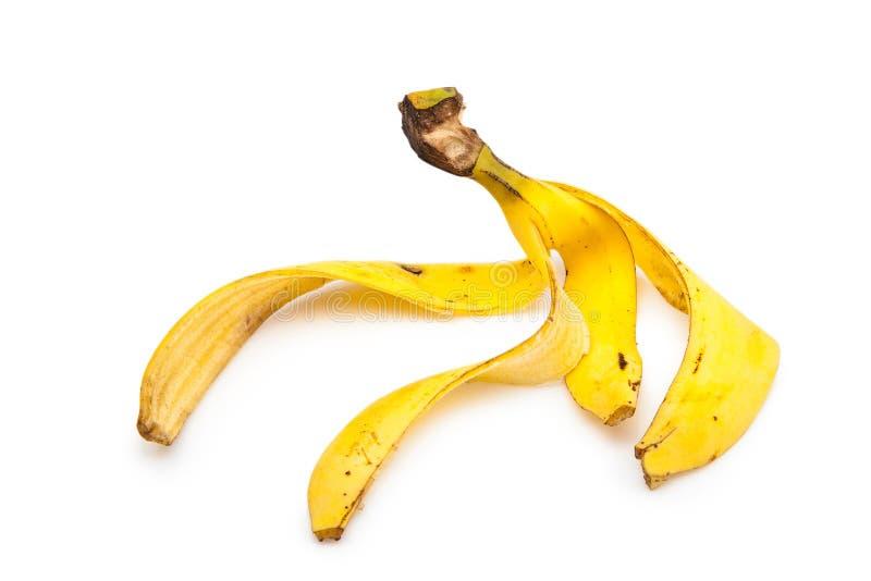 Cáscara del plátano fotos de archivo