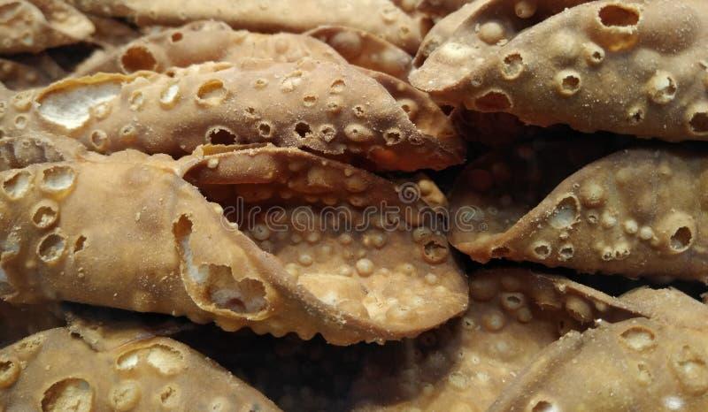 Cáscaras de Cannoli, Cannoli hecho en casa fotografía de archivo libre de regalías