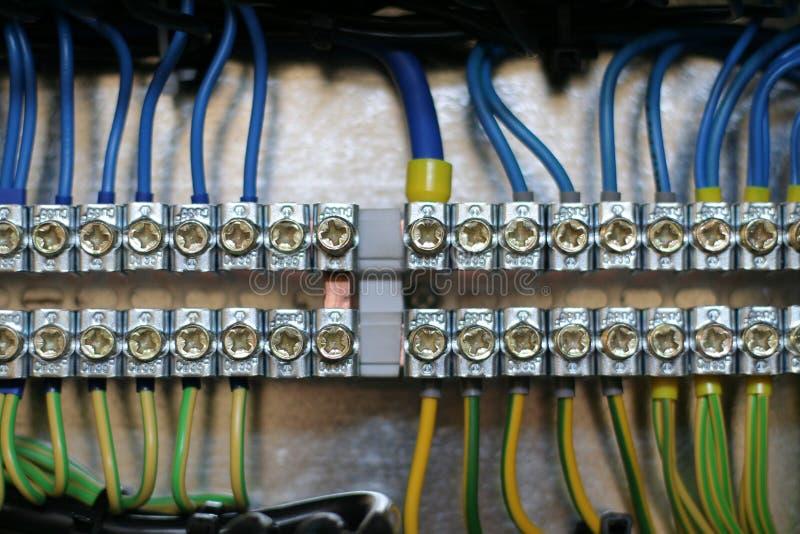 Câblage images stock