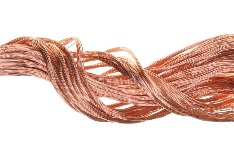 Câblage cuivre images stock