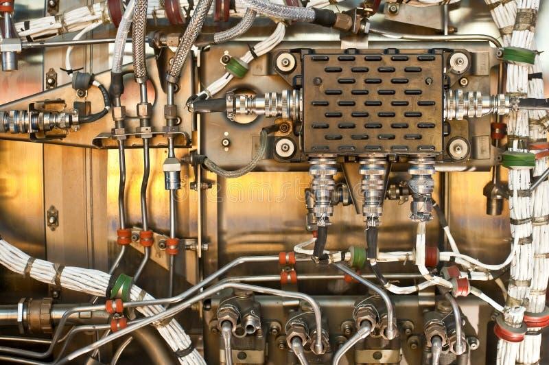 Câblage et hydraulique photographie stock libre de droits