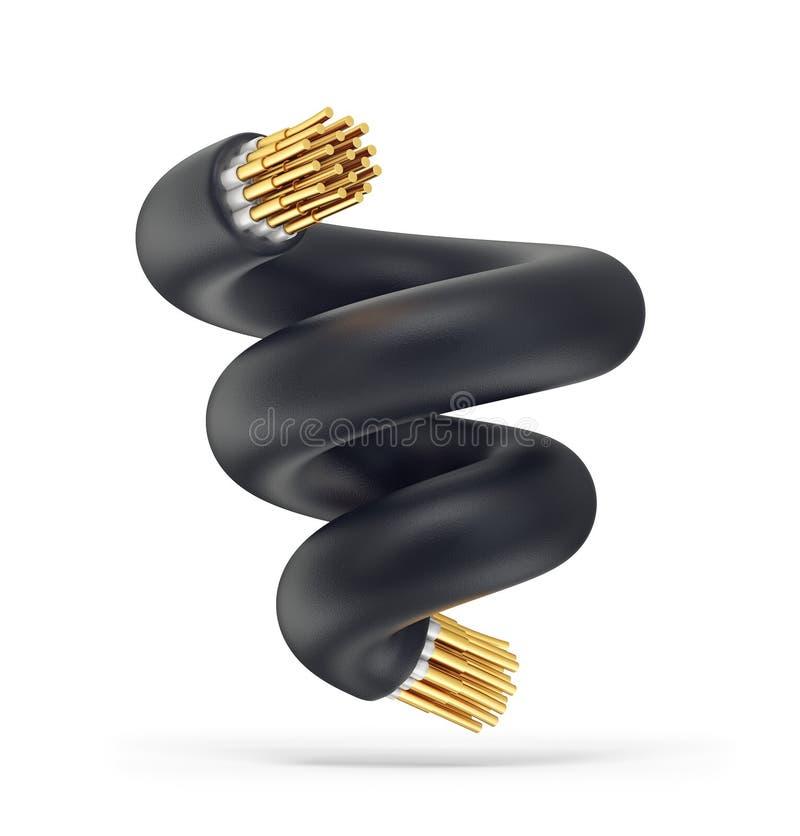 câble illustration de vecteur