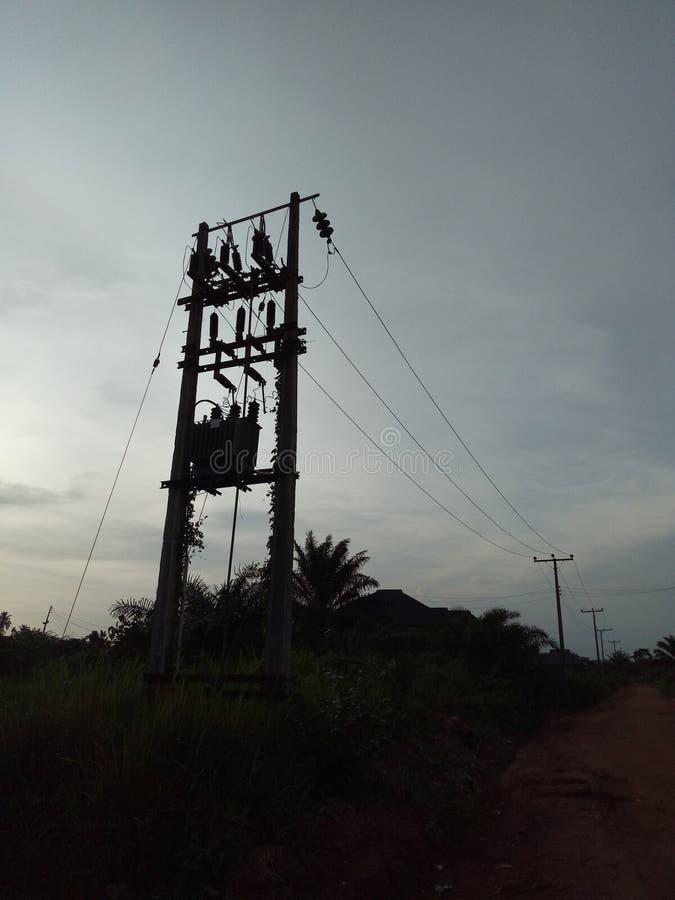 Câble aérien photos libres de droits