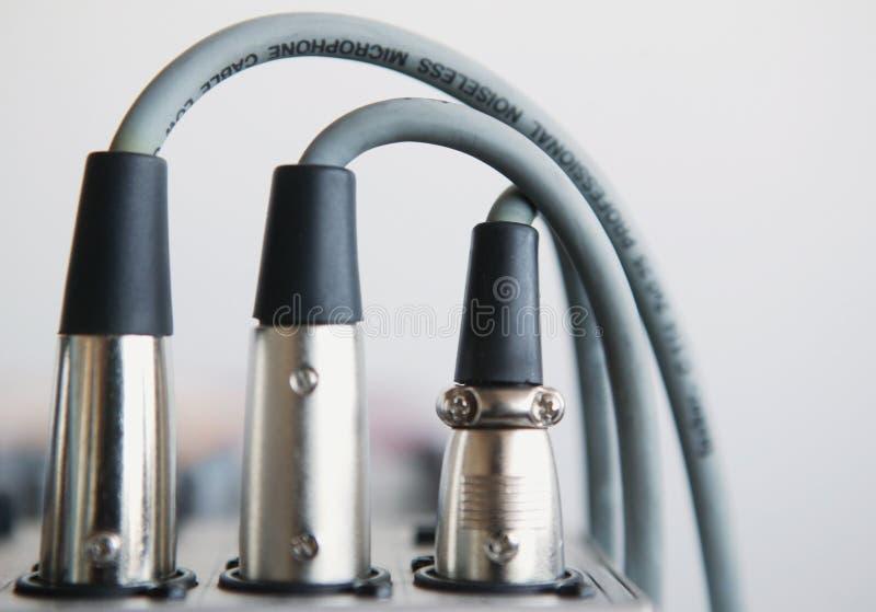 Câble acoustique images stock