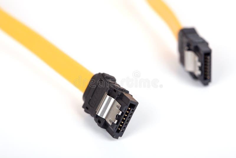 Câble ATA séquentiel photo libre de droits
