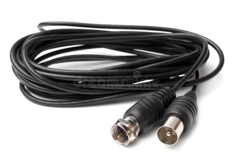 Câble coaxial FME d'antenne images libres de droits