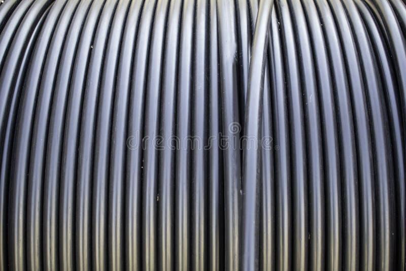 Câble d'industrie photographie stock