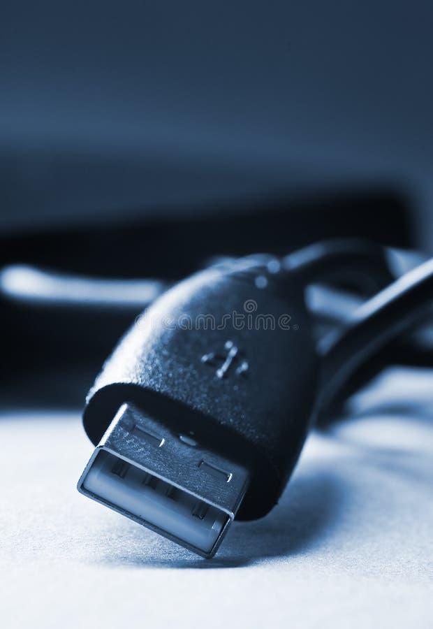 Câble d'ordinateur images libres de droits