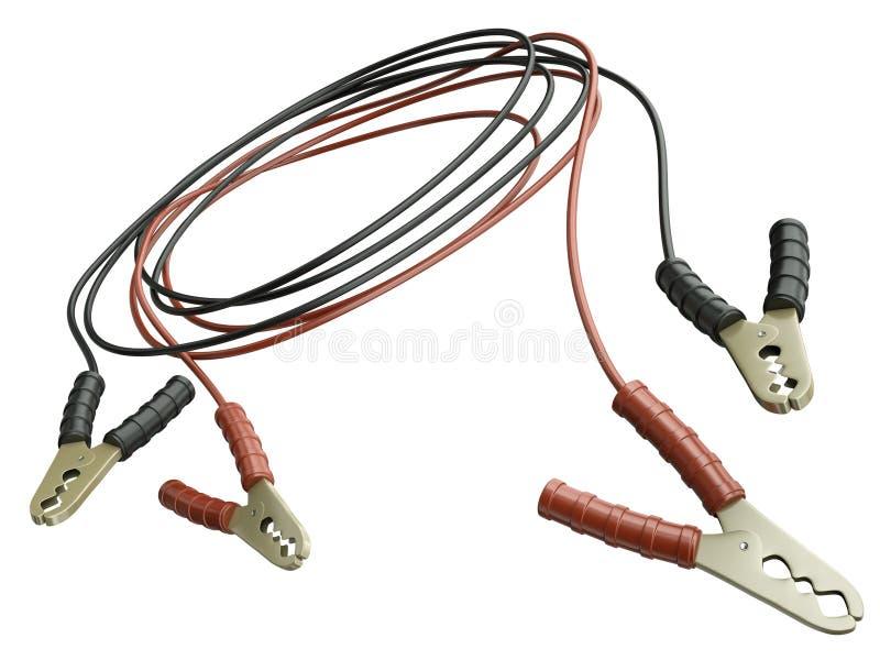 Câble de cavalier illustration stock