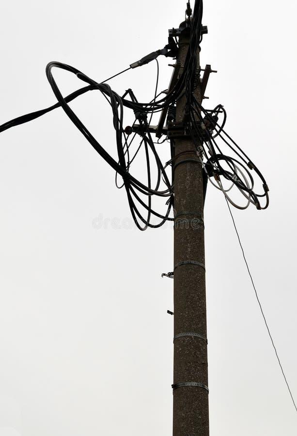 Câble de ciel photo libre de droits