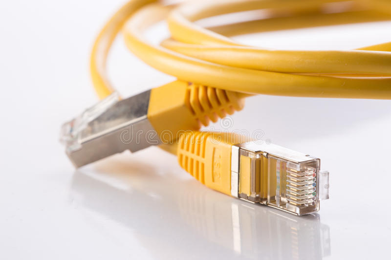 Câble de ftp images stock