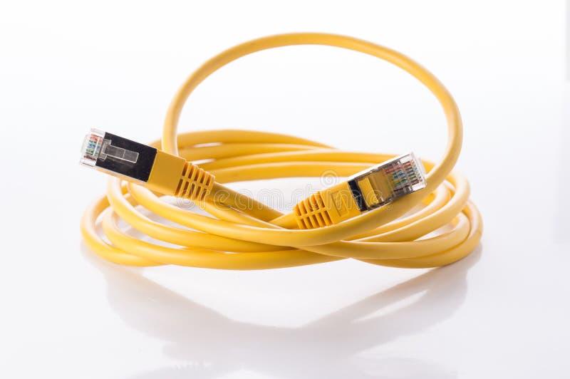 Câble de ftp photos libres de droits