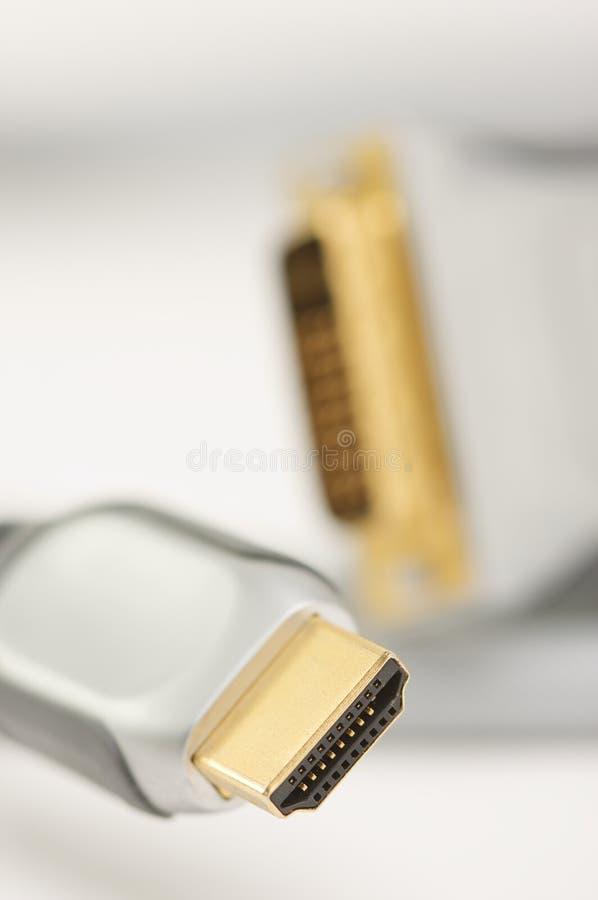 Câble de HDMI photos stock