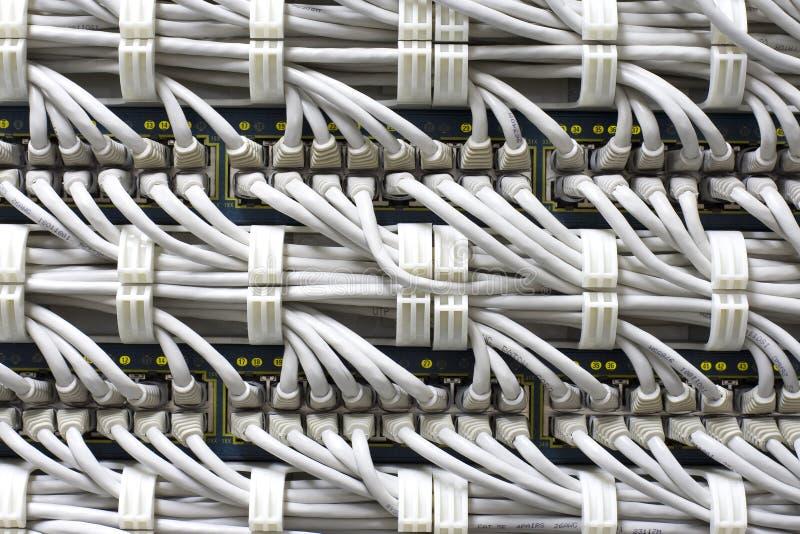 Câble le fond images libres de droits