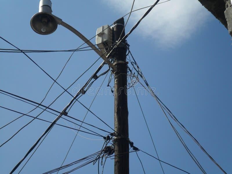 Câbles électriques image stock
