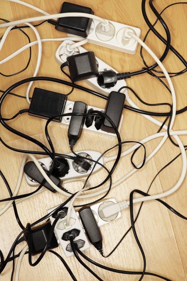 câbles photo stock