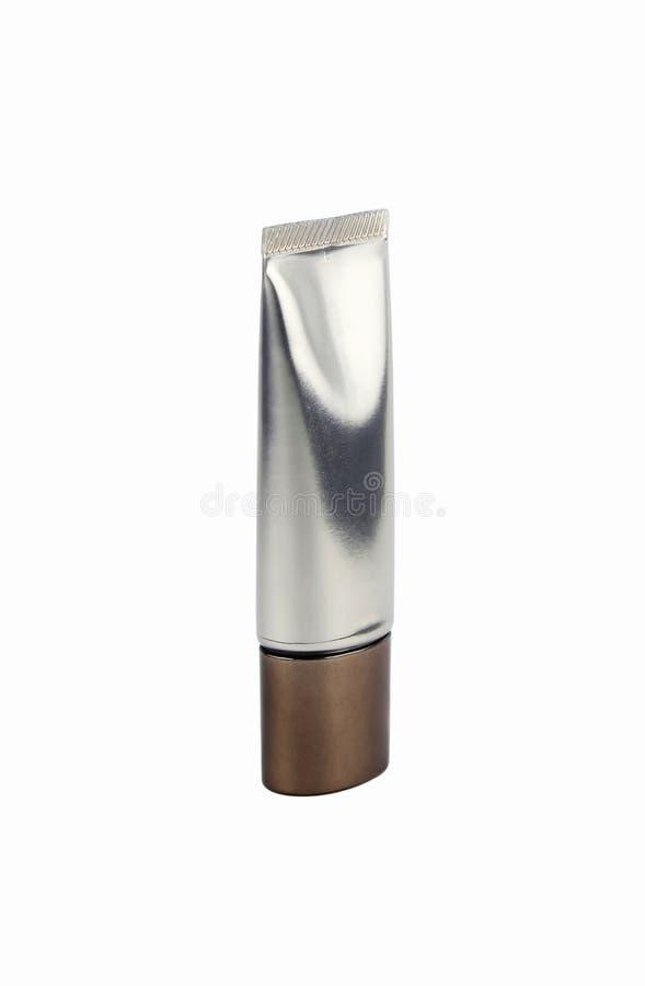 Câmara de ar de creme cosmética fotografia de stock royalty free