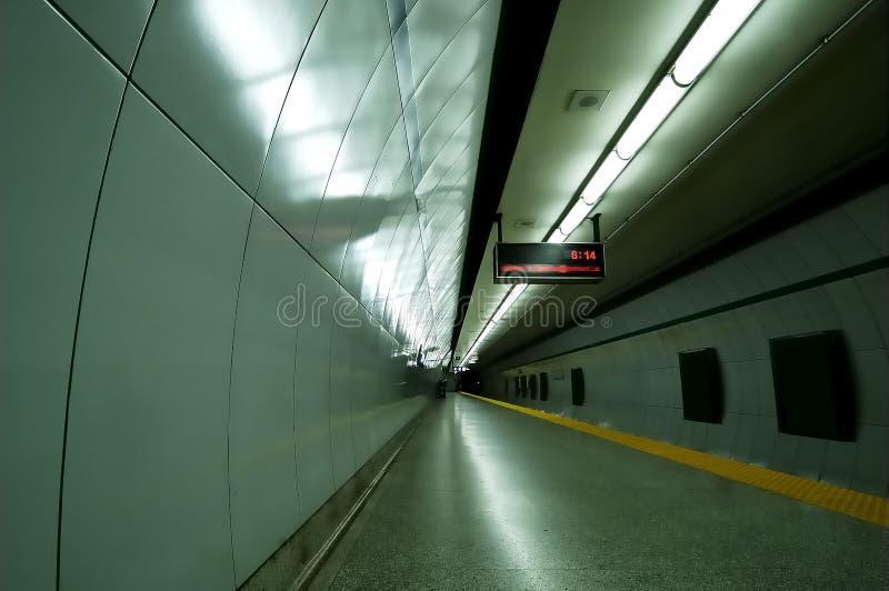 Câmara de ar do metro fotografia de stock