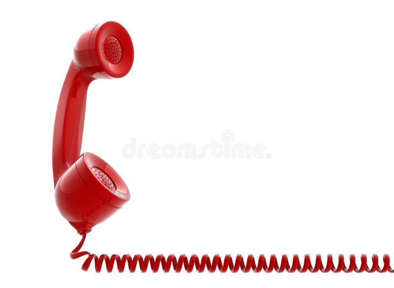 Câmara de ar velha do telefone ilustração stock