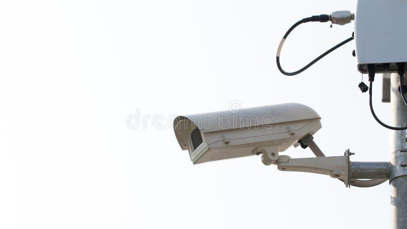 Câmara de segurança da fiscalização ou CCTV imagem de stock royalty free
