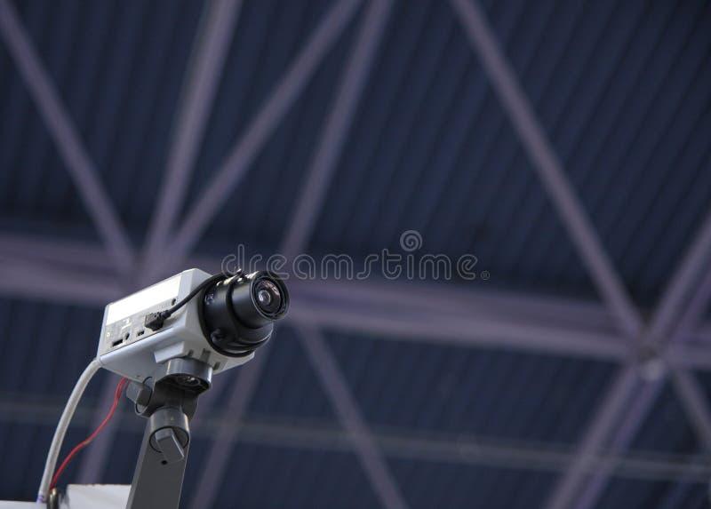 Câmara de segurança do CCTV. imagens de stock