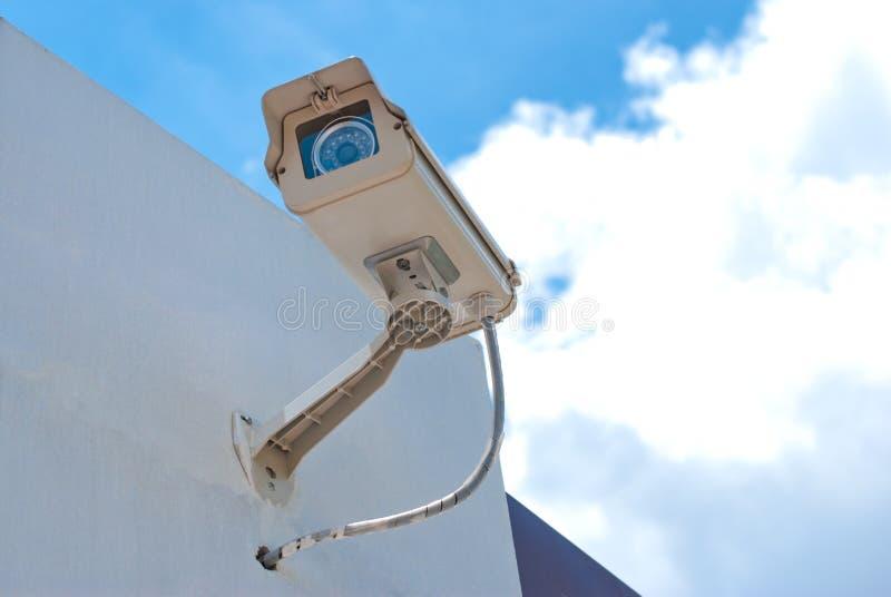 Câmara de segurança do CCTV foto de stock