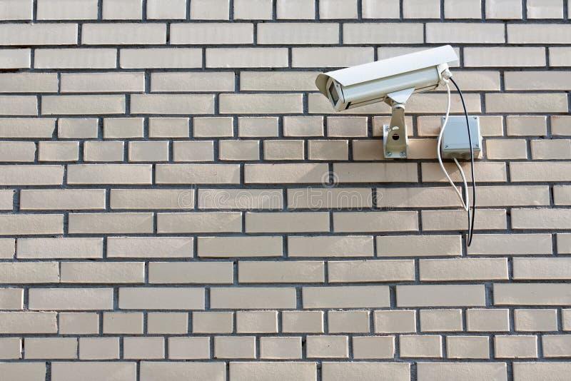 Câmara de segurança do CCTV fotos de stock royalty free
