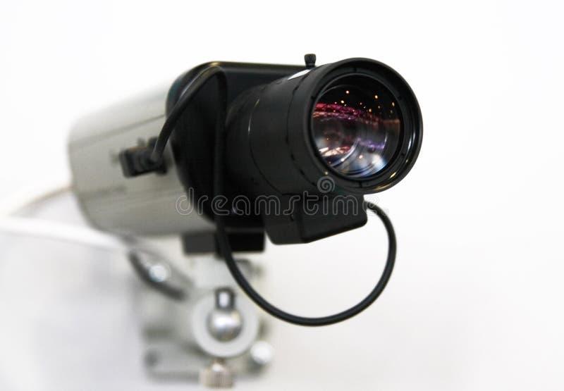 Câmara de segurança do CCTV. fotografia de stock