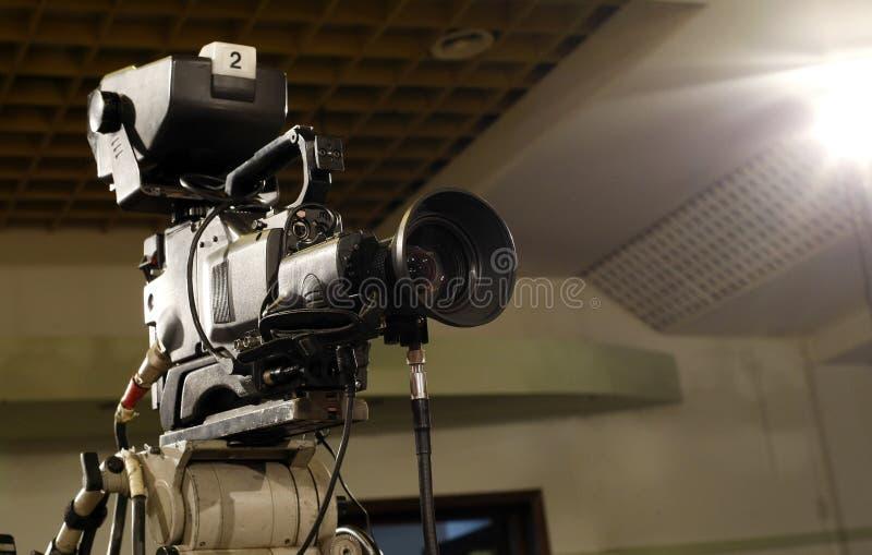 Câmara de televisão fotos de stock royalty free