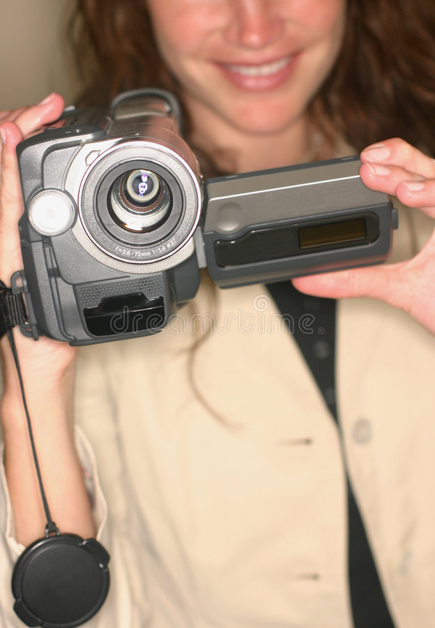 Câmara de vídeo fotos de stock royalty free