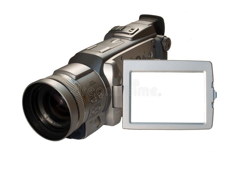 Câmara de vídeo de Digitas com frame fotos de stock royalty free