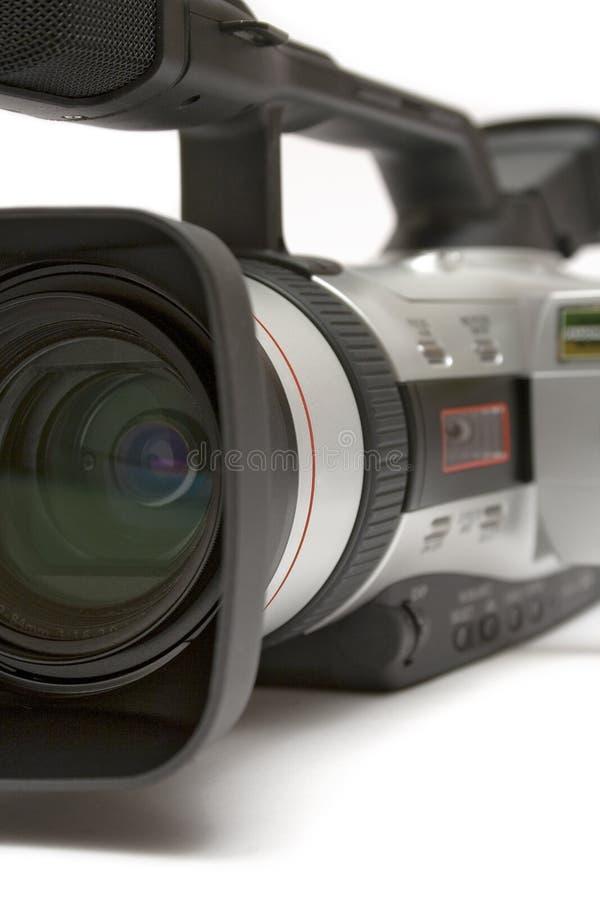 Câmara de vídeo de Digitas (opinião do Dianteiro-Lado do detalhe) imagem de stock royalty free