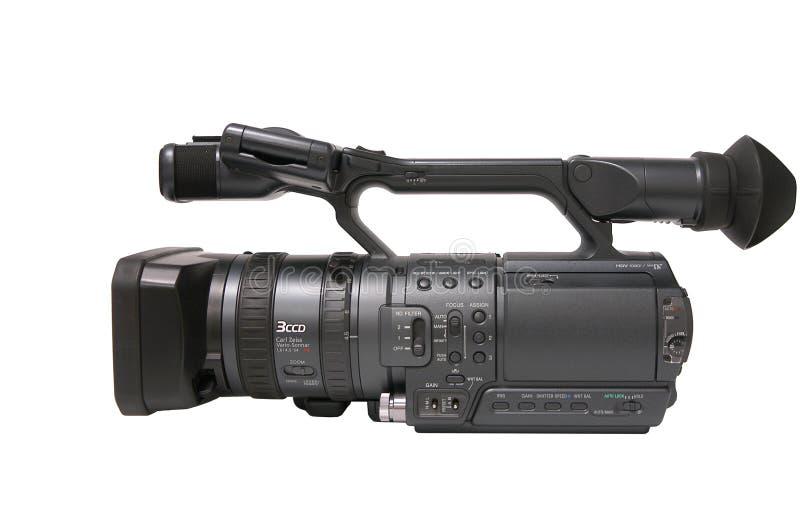 Câmara de vídeo de HD fotografia de stock
