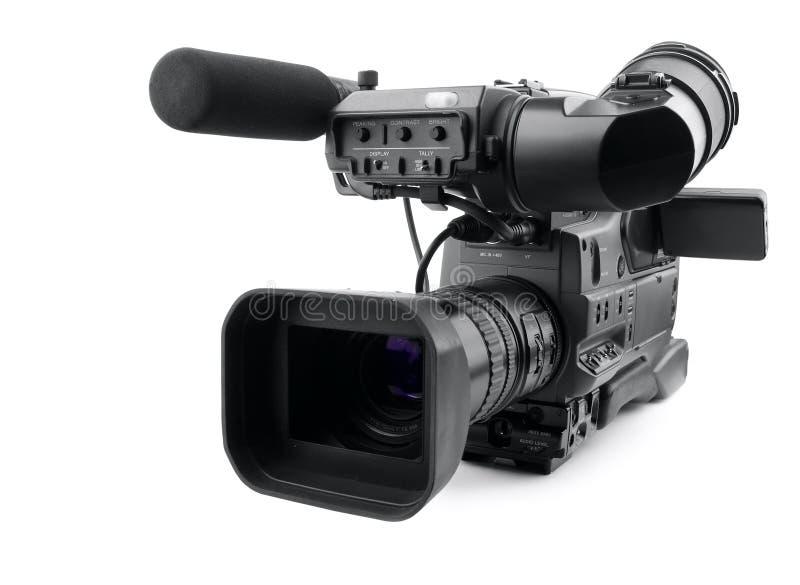 Câmara de vídeo digital profissional fotos de stock