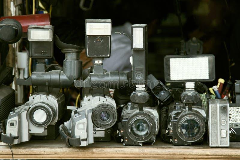 Câmara de vídeo velha fotos de stock royalty free