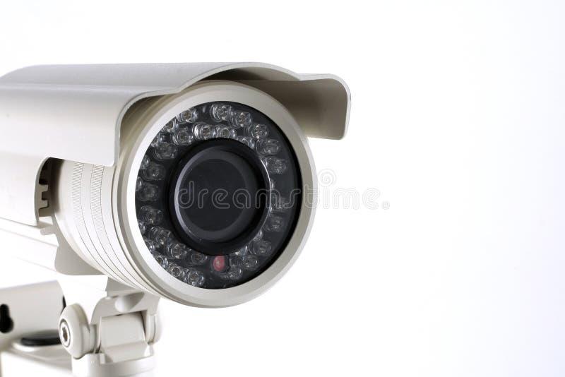 Câmara de vigilância do CCTV imagem de stock